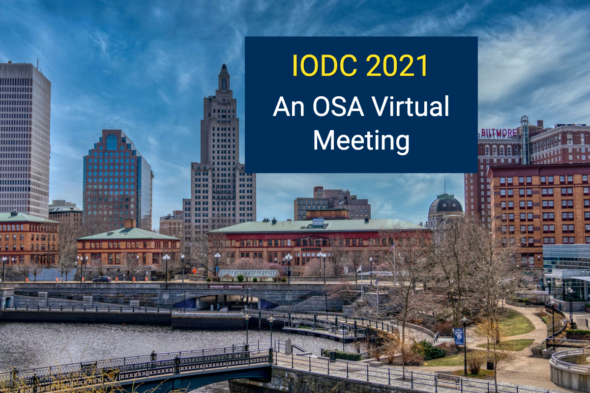 The 2021 IODC Goes Virtual – Don't Miss the Shafer Cup and Online Conference Sessions!
